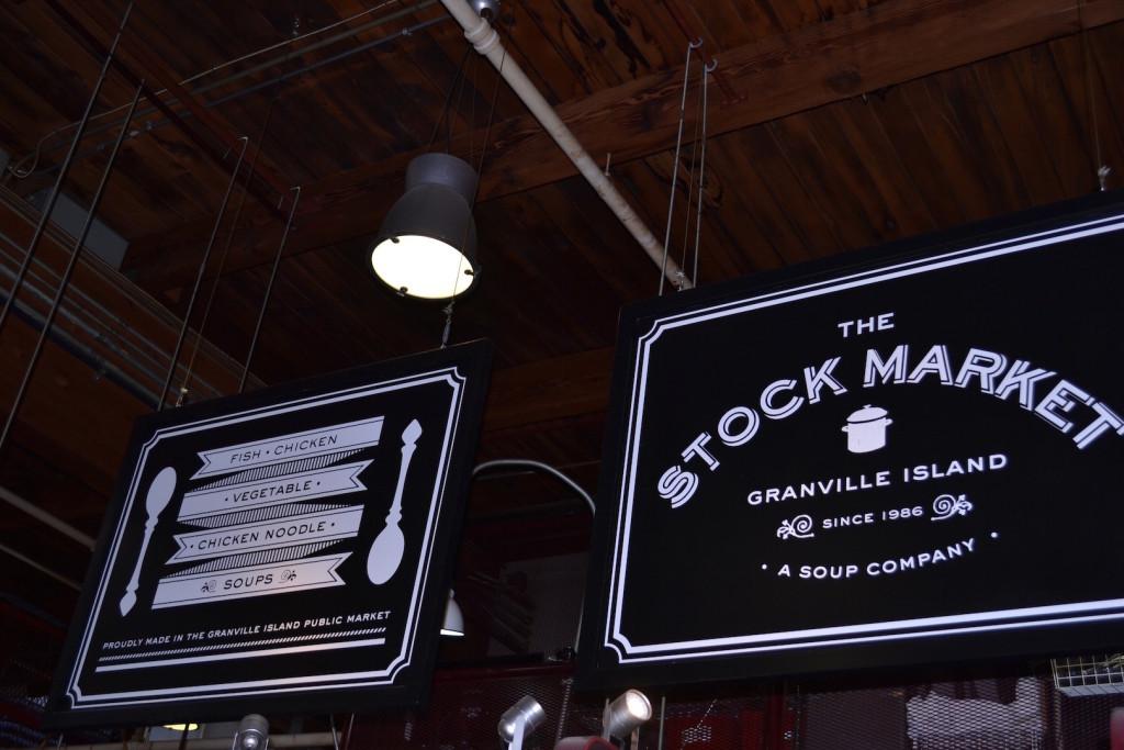 Stock Market, Granville Island