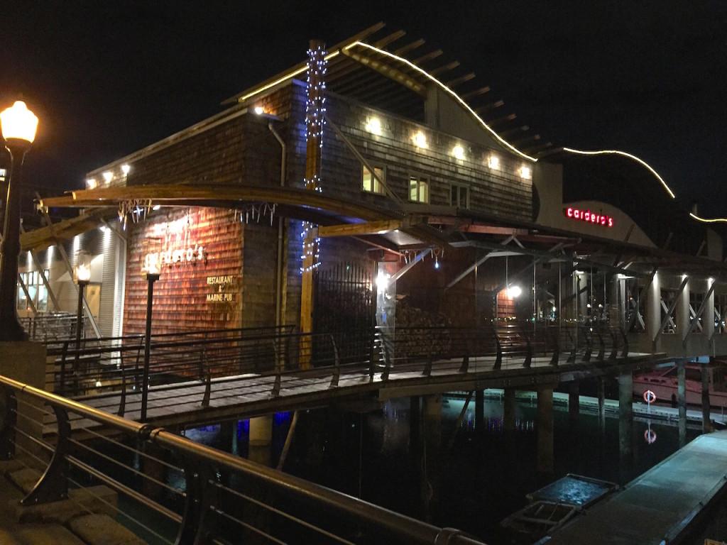 cordero's restaurant in Coal Harbour, Vancouver