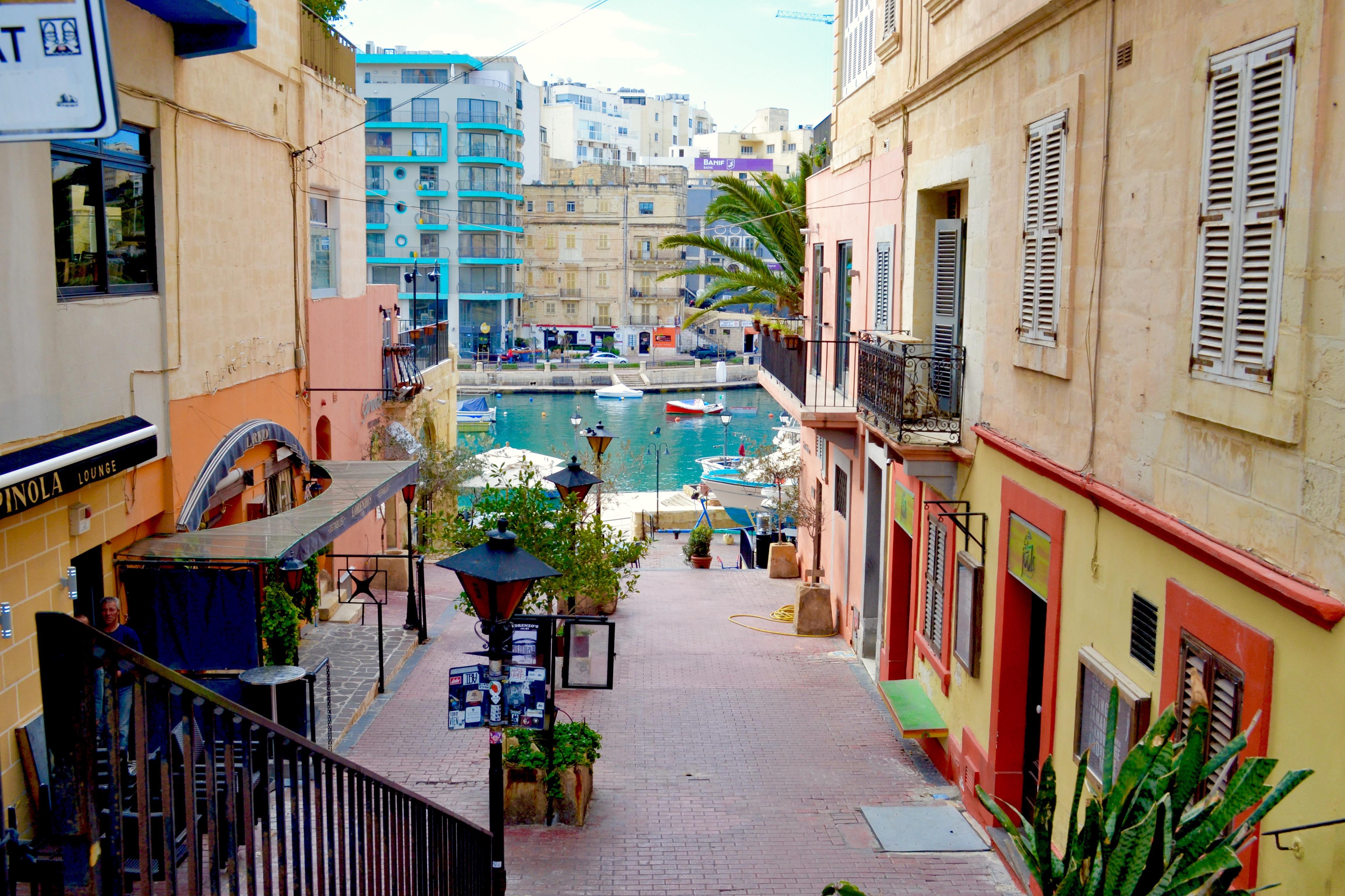 St. Julian's Village in Malta