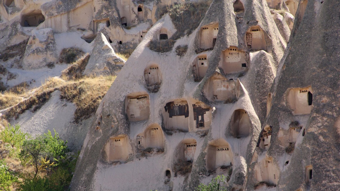 Picture of Uçhisar, Cappadocia, Turkey