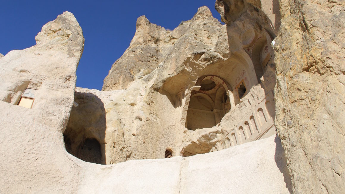 Rock Formation in Göreme, Cappadocia, Turkey