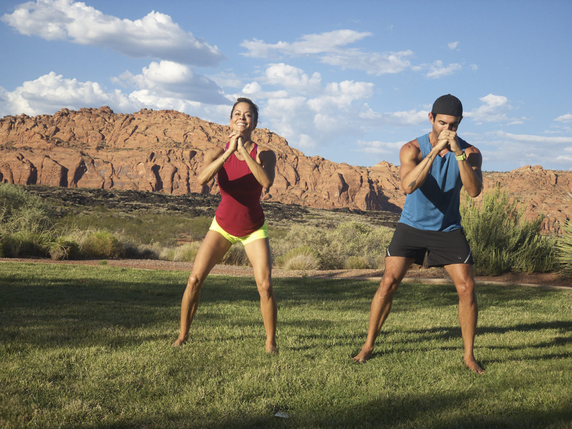 Fitness Expert Brooke Burke at Retreats Unlimited