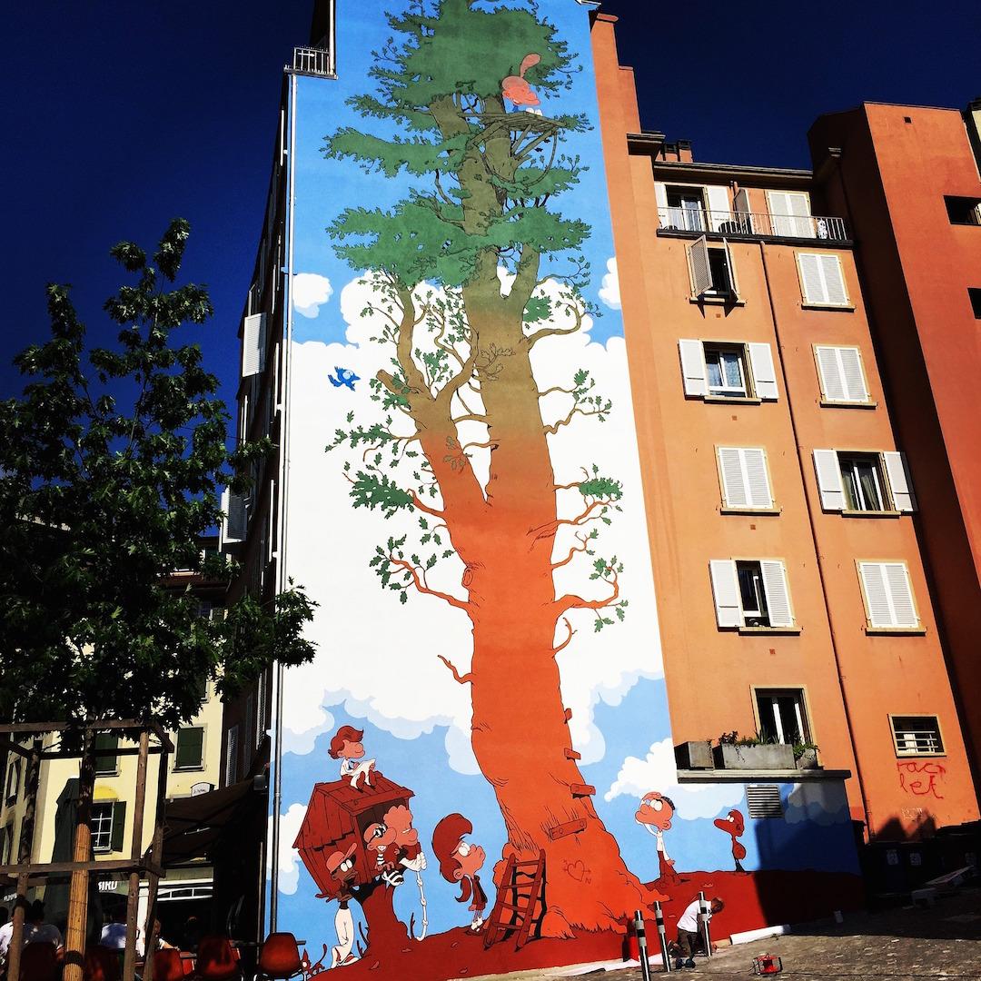 Titeuf Wall Art Mural