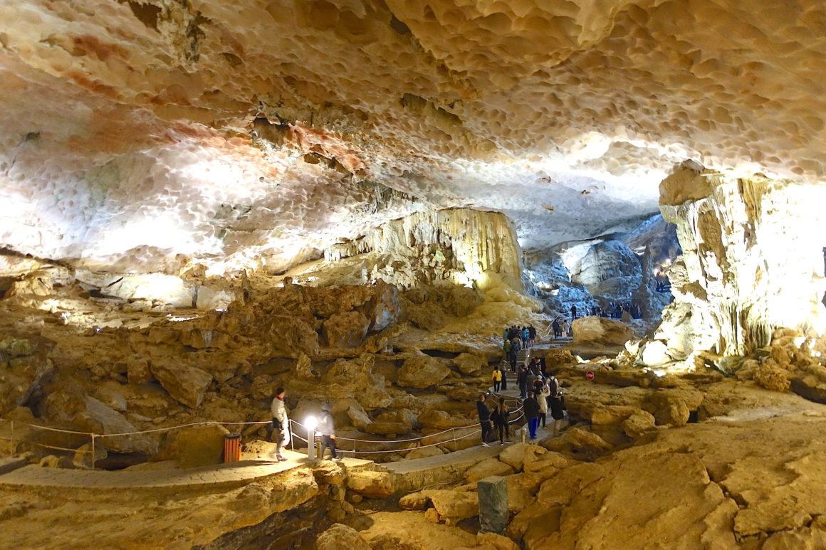 Ha Long Bay Sung Sot Cave